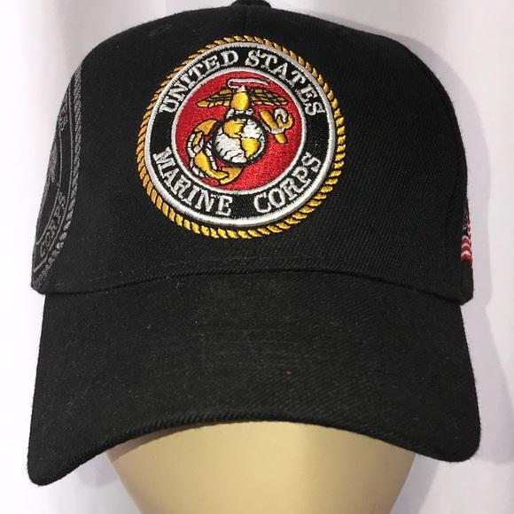 e4cd8fe619e USMC embroidered hat cap cover. M 5aecf47b3800c53e3f7ef015. Other  Accessories ...